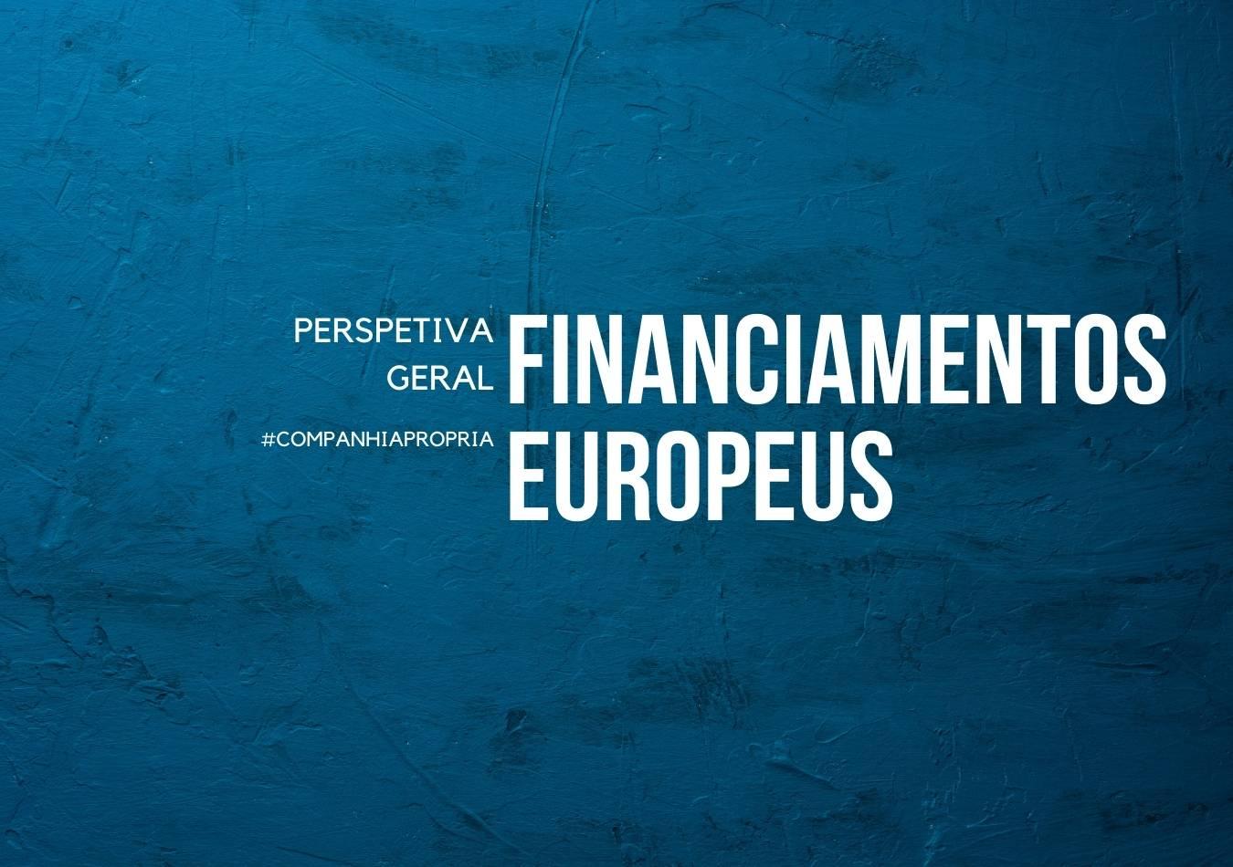 Financiamentos europeus capa